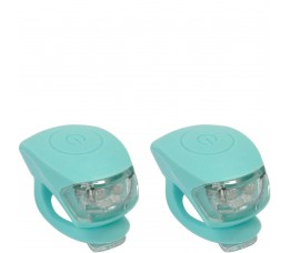 Urban Proof Up Siliconen Led Fietslampjes Set Mint