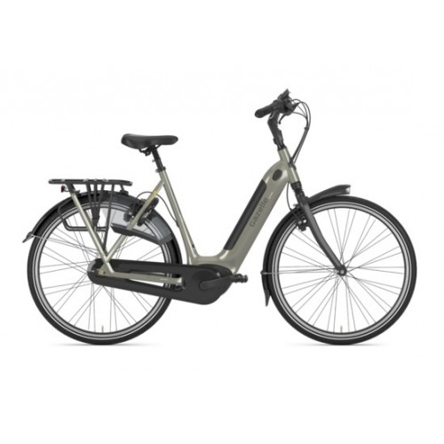 Gazelle Grenoble C8 Hmb Connect Gps, Warm Grey Glans