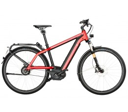 Riese Und Muller Charger Gt Nuvinci Hs 500wh, Electric Red Metallic